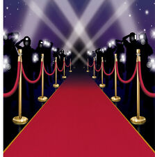 HOLLYWOOD MOVIE NIGHT RED CARPET OSCAR AWARDS DECORATIONS INSTA MURAL WALL COVER
