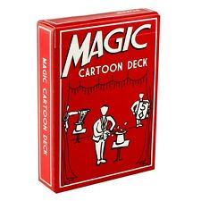 Magic Cartoon Deck - Selected Card is Pulled Out of a Hat By Cartoon Magician!