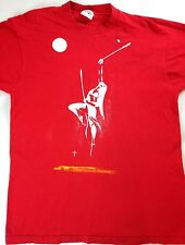 Tiger Brand VTG T-Shirt Spiritual Dance Woman Sun Moon Rain USA Made Mens L/XL