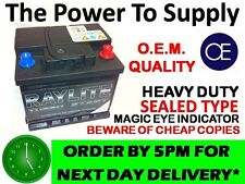 ROVER 25 45 100 200 400 1.4 1.6 CAR BATTERY 063 12V HEAVY DUTY MAINTENANCE FREE