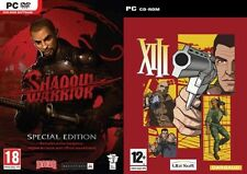 shadow warrior special edition & xiii   new&sealed