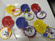 Transformers Optimus Prime 6th Birthday Gourmet Chocolate Lollipops Party Favors