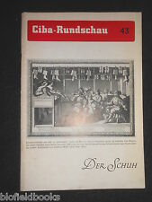 Ciba Rundschau 43 - Vintage German Magazine - Jan 1940 - Der Schuh/Shoe Industry
