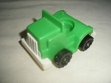 Vintage fisher price little people camion tracteur truck
