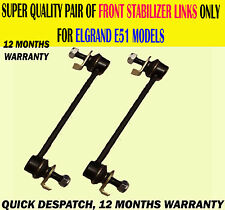 FITS ELGRAND 2.5 3.5 2002-2010 E51 FRONT STABILIZER SWAY BAR ANTI ROLL LINK X2