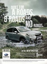 SUBARU FORESTER  .. Car ADVERT - 2013 Advertisement