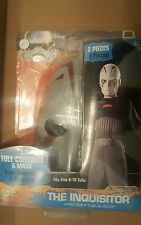 Childs Star Wars Rebels Inquisitor Action-suit Costume Medium 8-10 Halloween