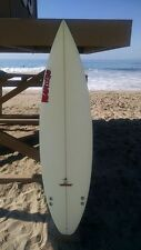 "Warner Surfboards WB005-US009: 6'1"" Short Board Hand Shaped In Australia"