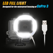 Mini 19 LED Selfie Camera Flash Fill-In Light rechargeable for GoPro Hero 3