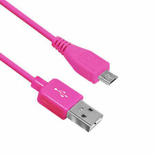 High Quality Micro USB Data Sync Charger Charging Cable Lead Cord MultiColour UK