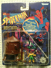SPIDERMAN & LIZARD & DR. OCTOPUS - MICRO PLAYSET - MARVEL - MOSC