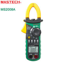 MS2008A Digital Clamp Meter Current AC/DC Voltage Resistance Tester Multimeter