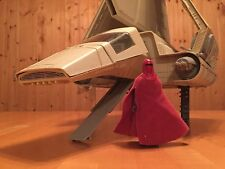 Vintage 1983 Star Wars VI: Return of the Jedi Imperial Shuttle w/ Imperial Guard