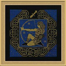 Zodiac Sign Sagittarius Cross Stitch Kit - Riolis - (R1209) - 25cm x 25cm