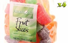 56oz Gourmet Style Bag of Assorted Chewy Fruit Slices Jelly Candy [3 1/2 lbs.]