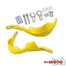 "Handguard Bar 7/8"" Motorbike ATV Dirt Bike Brush Hand Guard Raptor Yellow 22mm"