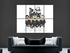 THE GODFATHER TV FILM RETRO CLASSIC  ART IMAGE  LARGE WALL POSTER PICTURE