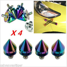 Aluminum Quick Release Fasteners Kit For Bumper Mouldings & Trunk 4pcs Colorful