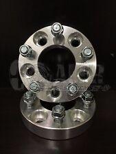 "2pcs 1"" Wheel Adapters Spacers 12x1.5 Studs 5x120 BMW 5 6 7 8 SERIES NEW"