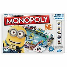 Monopoly Despicable Me 2 Board Game KIDS FUN MINIONS GAME GIFT IDEA BRAND NEW