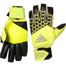ADIDAS ACE ZONES FINGERTIP GOALKEEPER GLOVES SOLAR YELLOW - SIZE 12 - BNIP