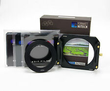 Formatt Hitech 100 ND Filter Kit c/w Metal Holder,3xND Filters,77mm Std Ring