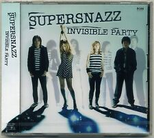 Supersnazz - Invisible Party CD JAPAN PRESS Teengenerate Firestarter Raydios