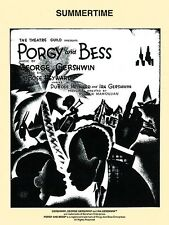 Summertime from Porgy and Bess Sheet Music Piano Vocal NEW DuBose Heyw 000321845