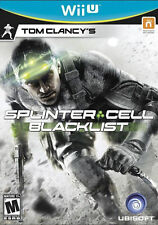Tom Clancy's Splinter Cell Blacklist RE-SEALED Nintendo Wii U GAME