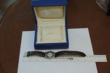 Piaget automatic, date, signed two-tone dial, movement, & case, Piaget box