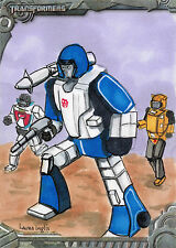 Transformers Optimum Collection Sketch Card by Laura Inglis
