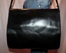 WILSONS LEATHER Medium Leather Shoulder Hobo Tote Satchel Cross Body Purse Bag