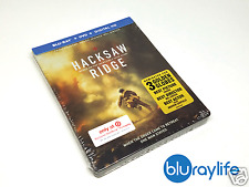 Hacksaw Ridge - Target Steelbook Exclusive Blu-ray + DVD + Digital Free Shipping