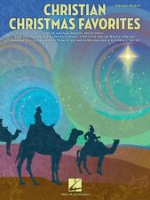 Christian Christmas Favorites Sheet Music Piano Solo SongBook NEW 000311436