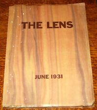 JUNE '31 - 1931 Yearbook WASHINGTON HIGH SCHOOL Portland Oregon OR Ore THE LENS