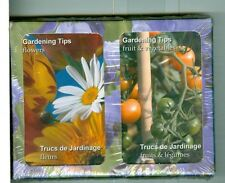 "Two Decks Non-Standard Playing Cards ""Gardening Tips"", by Finders Forum, Canada"