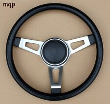 Grant 3 Spoke Tuff Black Steering Wheel without installation kit