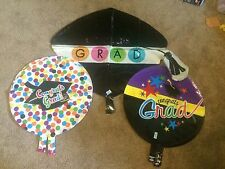 Lot of 116 Congrats grad graduation Mylar party balloon