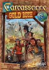 Carcassonne: Gold Rush the Board Game (Standalone Game) by Z-Man Games