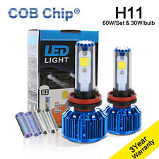 LED Headlight Kit COB Light 6K 8K Lamp Bulbs For 2015-2016 FORD F150 F-150