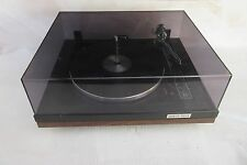 Vintage BSR Quanta 450 SX Turntable with Dustcover, Autoglide Spindle®, working