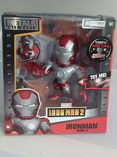 "Jada Metals 6"" Inch Ironman 2 Mark V Lootcrate Exclusive Die Cast Figure New M57"
