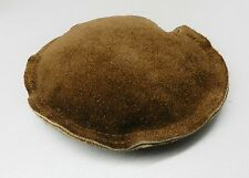 "ROUND LEATHER SAND BAG 4-3/4"" JEWELRY DAPPING FORMING CHASING BENCH ANVIL BLOCK"