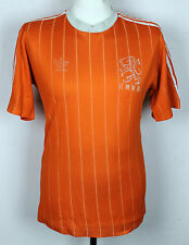 VINTAGE HOLLAND HOME FOOTBALL SHIRT 1980's ADIDAS LARGE MENS VERY RARE