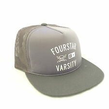 Fourstar Grey Mesh Trucker cap hat - one size