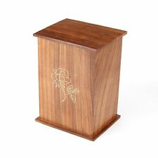 Cremation Ashes Urn /  Ashes Casket SOLID WOOD!!- Romsey 250 CI (UU110010A)