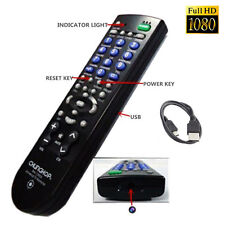 Full HD 1080P 8GB SPY DVR Hidden Camera Mini TV Remote Control Pinhole Camcorder