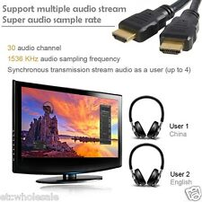 HDMI 2.0 Cable 6ft 30 AWG High Speed 18Gbps Ethernet 4K 2160p HD PS4 PC Apple TV