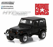 GREENLIGHT 1:64 PATRIOT GAMES 1987 JEEP WRANGLER YJ 44730-B