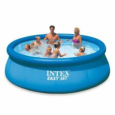 Intex Easy Set Swimming Pool & Filter Kids Adults Inflatable Backyard 12'x30""